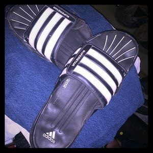 Adidas Fit Foam Superstar Velcro top Slides/Sandal